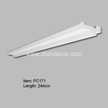 Professional Design for Polyurethane Indirect Lighting Boxes Crown Molding with Indirect Lighting export to Indonesia Exporter