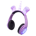 LED colourful lighting headphone headphones