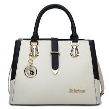 Fancy ladies female leather designer branded hand bags