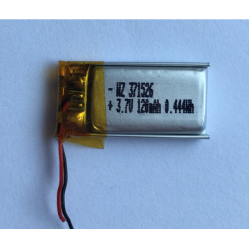 120mAh Lipo Battery For Wireless Bluetooth Headset (LP1X2T3)