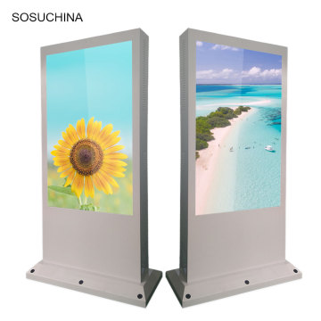 commerical touch screen Android outdoor advertising signage