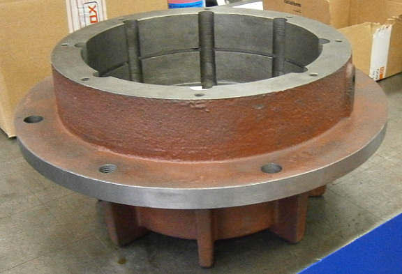 Customized Cast Iron Pump Components