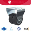 2 inch rigid twin wheel TPR industrial caster