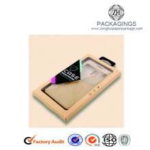 Luxury transparent phone case packaging box