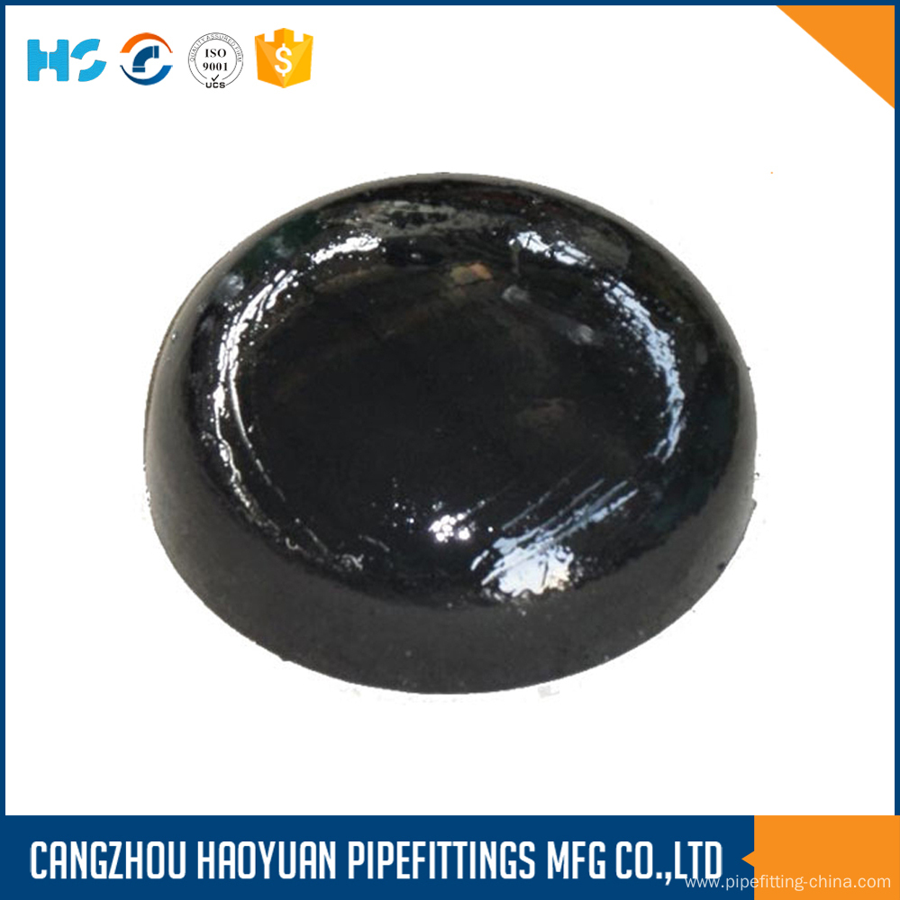 ANSI B16.9 Pipe Cap Steel Welded Pipe Fittings