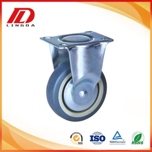 2 inch rigid caster with TPE wheel
