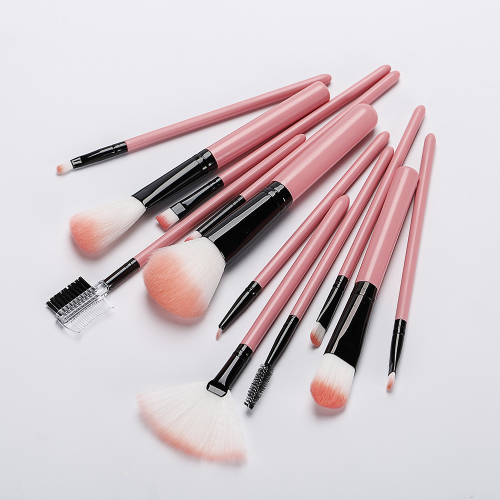 12pcs Makeup Brush Set