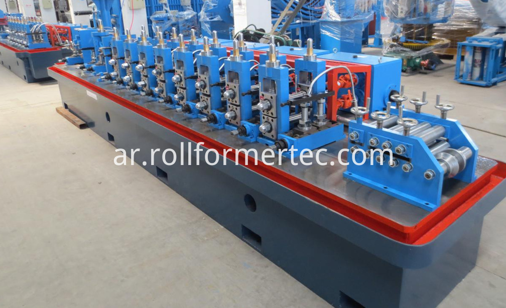 Tube rollformers induction welding tubes machine (5)