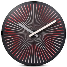 Professional for Motion Wall Clock Drum Amazing Starburst Wall Clock for Decoration export to Syrian Arab Republic Supplier