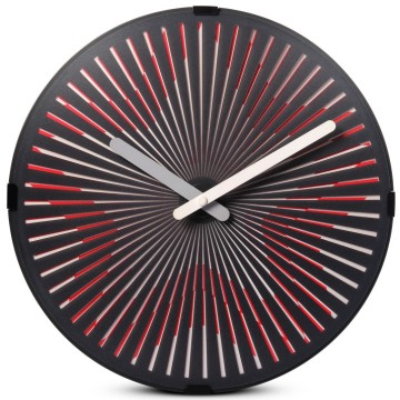 Leading for Motion Clocks Amazing Starburst Wall Clock for Decoration export to Sao Tome and Principe Supplier