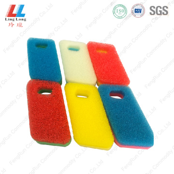 Stunning cleaning scouring sponge pad