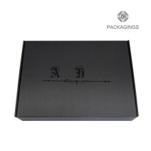 UV coating custom cardboard shipping box