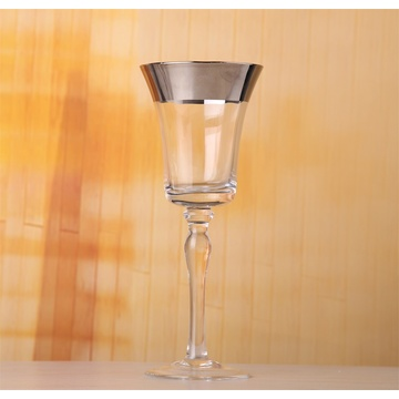 Electro Plating Stem Glass Wine Glass Goblet