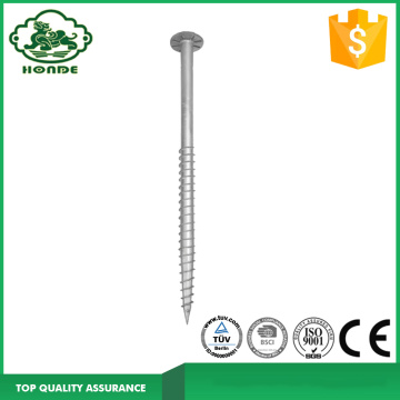 Metal Solar Ground Screw For Mounting System