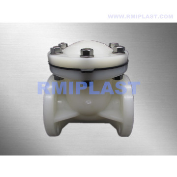 PVDF Swing Check Valve Flange End ANSI CL150