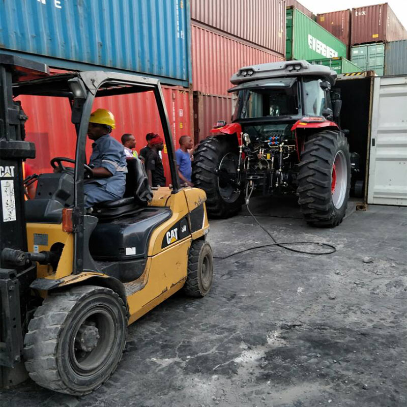 Tractor exported to Tanzania