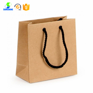 New design luxury paper shopping bag