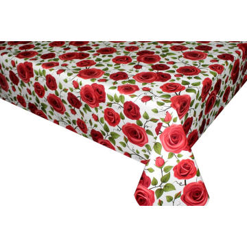 Pvc Printed fitted table covers Table Linens Guide