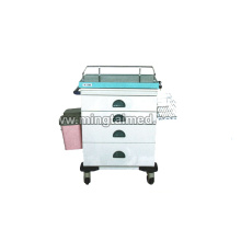 Cold rolled anesthesia cart
