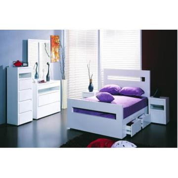Good Quality for Modern Bed Contemporary wooden bedroom furniture supply to Germany Suppliers