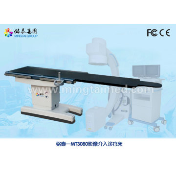 Carbon fiber electric operating table