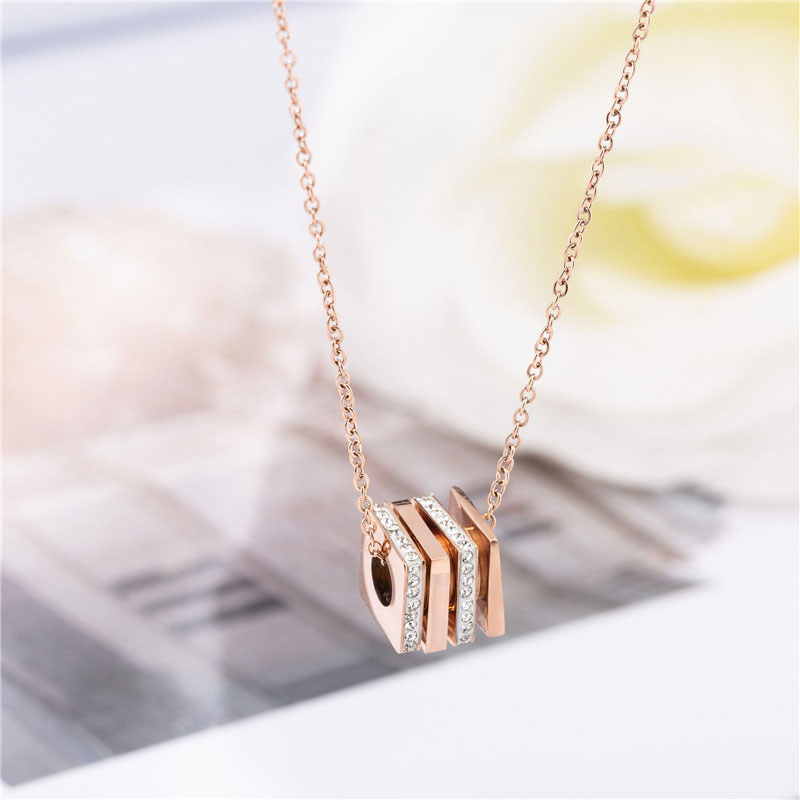Stainless Steel Necklace Womens