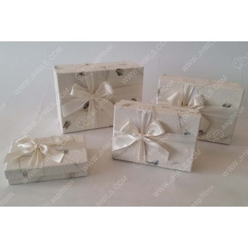 Printed Bowknot Cosmetic Box