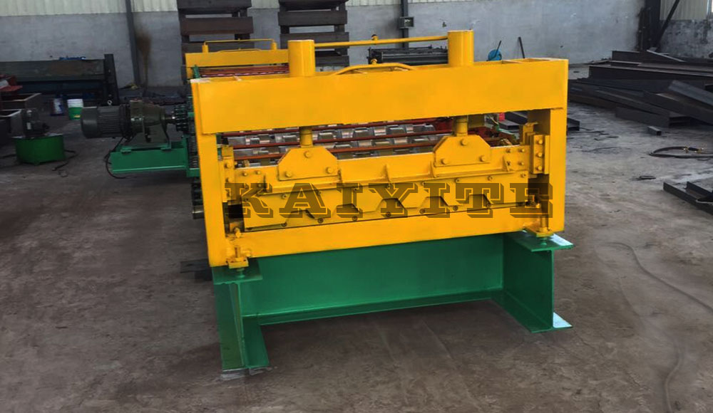 Used Roller Shutter Roll Forming Machine