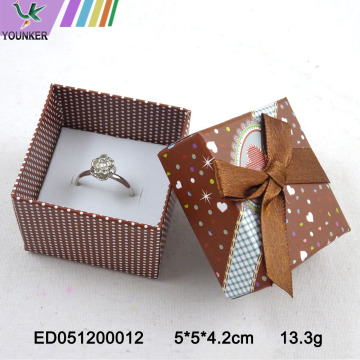 Heart Spots Ring Boxes Jewelry Kids Gift Box