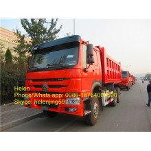 China for Dump Car Howo 336hp Euro2 18 CBM Dumper Truck export to Guadeloupe Factories