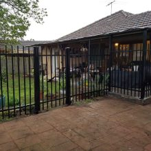 Good Quality for  Beautiful steel palisade fence supply to Rwanda Manufacturer