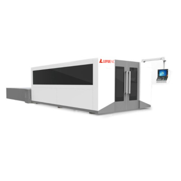 CNC Laser Cutting Machine With Big Dust Cover