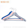 EISHO Large Colorful Wood Suit Coat Hanger