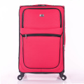Colourful travel trolley luggage bag fabric bag
