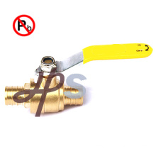 No lead brass pex ball valve(pex x pex)