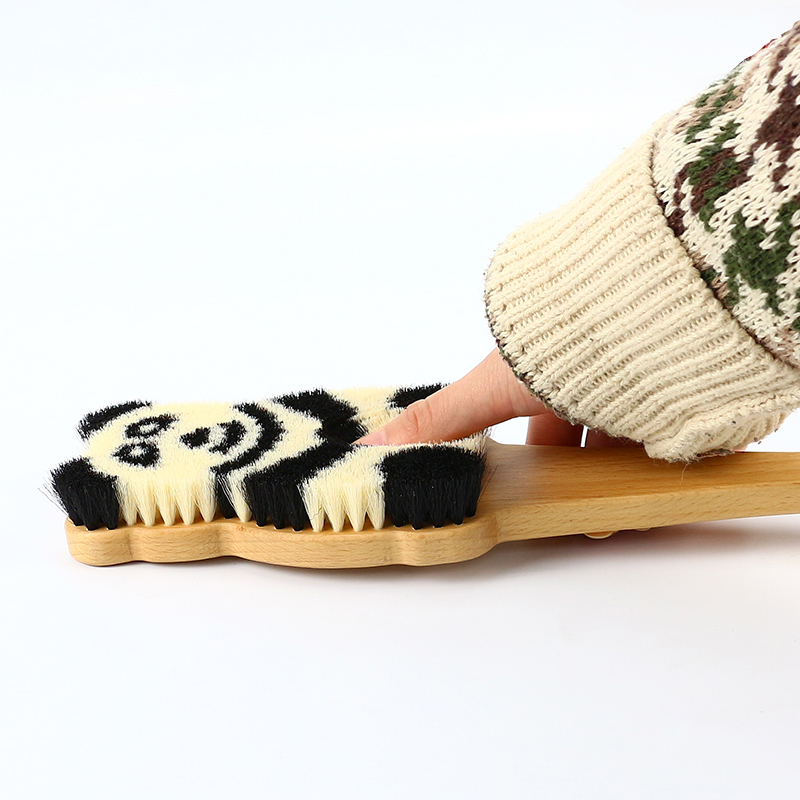 Panda Pattern Bath Brush