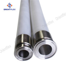 Food grade steel wire transparent silicone hose