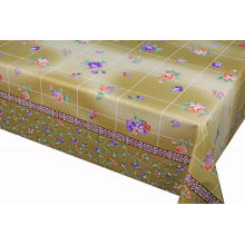 Elegant Tablecloth with Non woven backing Zipper