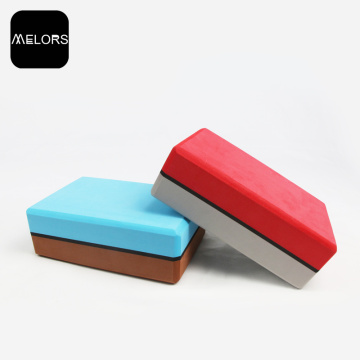 Melors EVA Customized logo Ecofriendly Yoga block