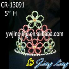 Custom King Crowns Flower shape