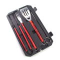 7pcs bbq carving set with skewer