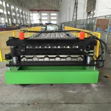 Customized for Ibr Trapezoid Roof Sheet Forming Machine trapezoid metal roll forming machine export to United States Supplier