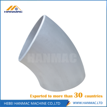Good Quality for Seamless 6063 Aluminum Elbow Long radius 5083 aluminum alloy elbow export to Suriname Manufacturer