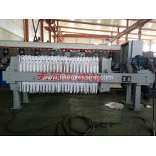 Electroplating process waste water filter press