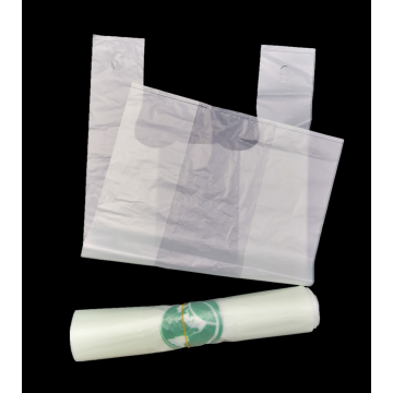 Compostable Cornstarch Based Biodegradable Plastic  Bags