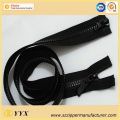 Top Bottom Pull 2 Way Open-End Plastic Zipper