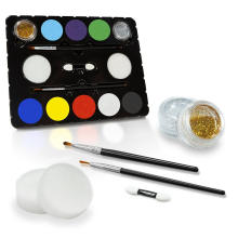 Professional Easy Painting Face Paint Kit for Kids