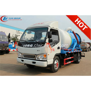 2019 New JAC 4000litres sewer cleaning truck
