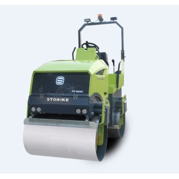 4 ton fully hydraulic vibratory roller compactor