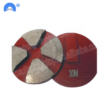 concrete grinding wedge block Diamond floor grinding tools